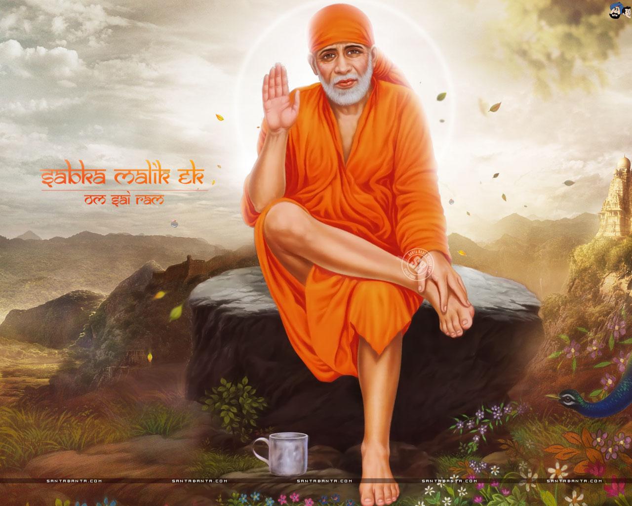 Baba Pictures Shirdi Sai Dham